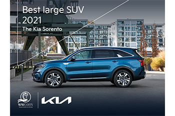 Kia Sorento wins Best Large SUV at Women's World Car of the Year Image